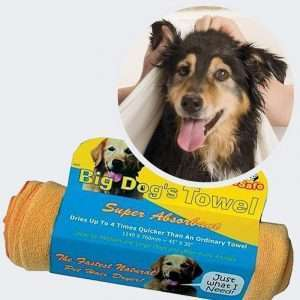 absorbant dog towel